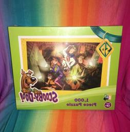 1000 piece puzzle scooby doo mystery flashlight