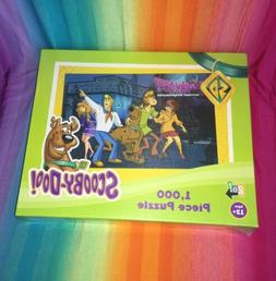 1000 piece puzzle scooby doo mystery incorporated