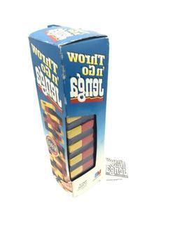 MILTON BRADLEY 1995 Throw n Go JENGA Fun Party Game or Game
