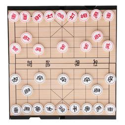 2 In 1 Magnetic Double-faced Board Chinese Chess Set Weiqi G