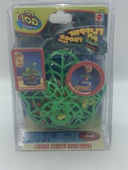 2009 Mattel Flippin Frogs To Go Mini Travel Game Brand New I