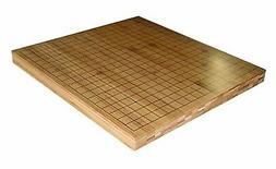 """3/4"""" Reversible Solid Bamboo Go and Chinese Chess Game Board"""