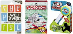 3 in 1 Bundle Pack - Monopoly On The Go Game, with Bop It an