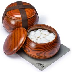 Single Convex Melamine Go Stones, 21.5 to 22 Millimeter , In
