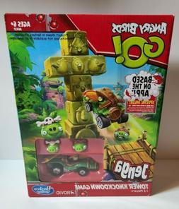 Hasbro Angry birds go! jenga tower knockdown game by