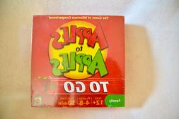 Mattel Apples to Apples To-Go Family Card Game Ages 12+ BRAN