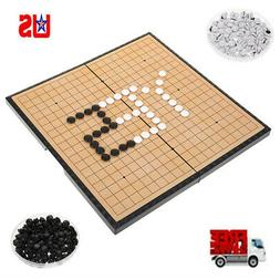 Baduk Go Game Set Board WeiQi Xiangqi Chinese Chess Game Mag