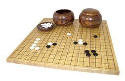 Bamboo Go Set Board Game
