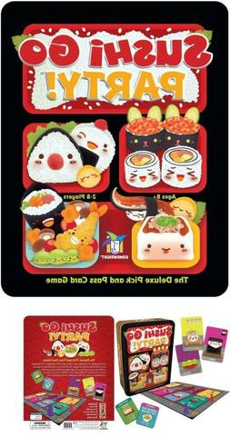 BEST!! New Gamewright Sushi Go Party! - The Deluxe Pick & Pa