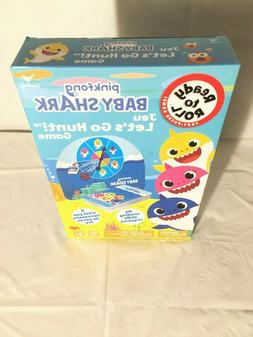 BRAND NEW BABY SHARK GAME, JEU LETS GO HUNT GAME, AGE'S3+, N