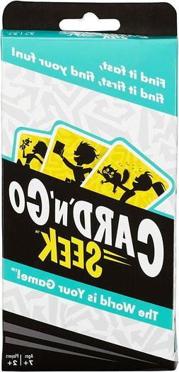 Mattel Games Card 'N' Go Seek Card Game
