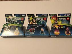 LEGO Dimensions Teen Titans Go! Set Includes 71287 & 71349 &
