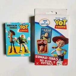 Disney Pixar Toy Story War & Go Fish Card Game & Deck of Pla