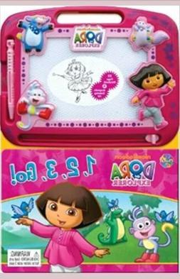 Dora the Explorer 1, 2, 3, Go! Learning Series Board book