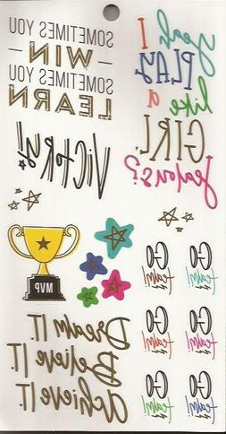 Encouragement Game Day/Go Team Stickers The Happy Planner Sp