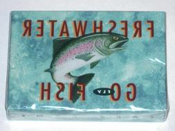 Freshwater GO FLY FISH Card Game by Inkstone Designs! New in