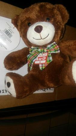 "Go! Games ~Gus BowTie Bear~ Plush Stuffed Animal ~10"" Toy  -"