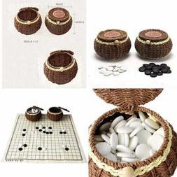 Go Chess Game Set W Exquisite Ceramics Stones In Hand Made W