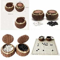 go chess game set w exquisite ceramics