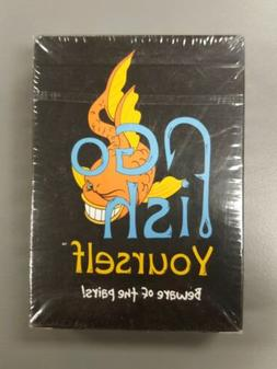 NEW Go Fish Yourself Party Game - 54 cards packed with off-t