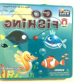 Go Fishing - Take 'N' Play Anywhere Game, Magnetic;  Ages 4+