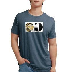 CafePress Go Game T Shirt Mens Tri-blend T-Shirt