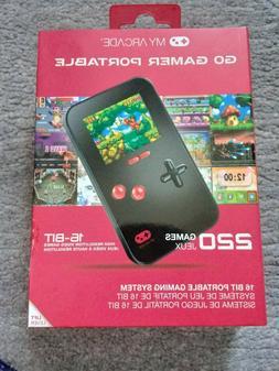 My Arcade Go Gamer Portable 16-Bit Gaming System w/ 220 Game