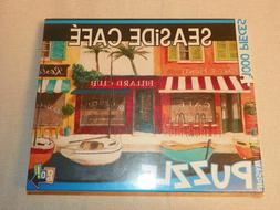 """Go! Games """"Seaside Cafe"""" 1000 Piece Jigsaw Puzzle"""