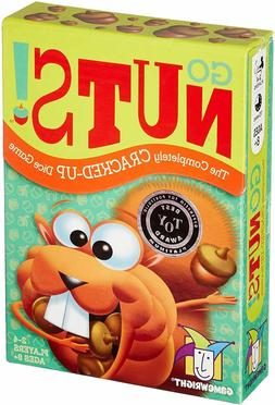 GO NUTS! - THE COMPLETELY CRACKED UP DICE GAME FUN KIDS EDUC