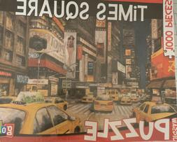 Go Games Jigsaw Puzzle Times Square 1000 Piece 29 x 19 NEW P
