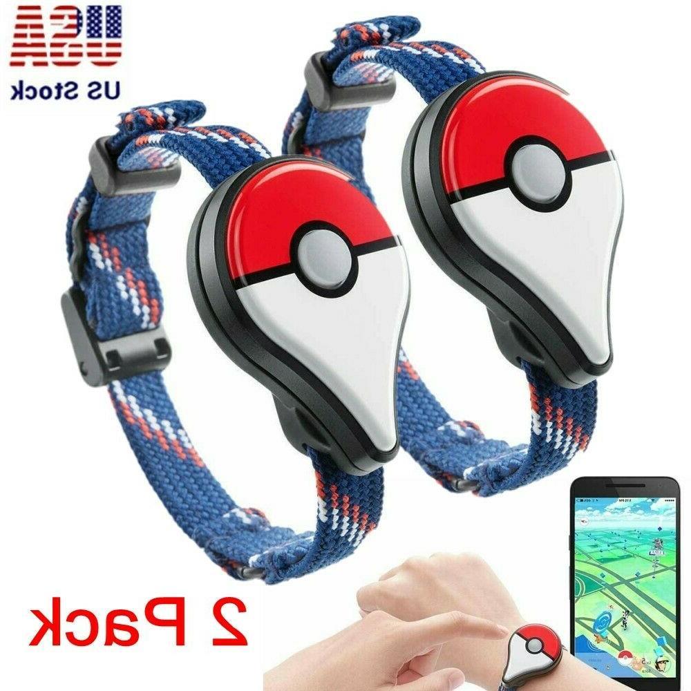 2 pack pokemon go plus bluetooth wristband