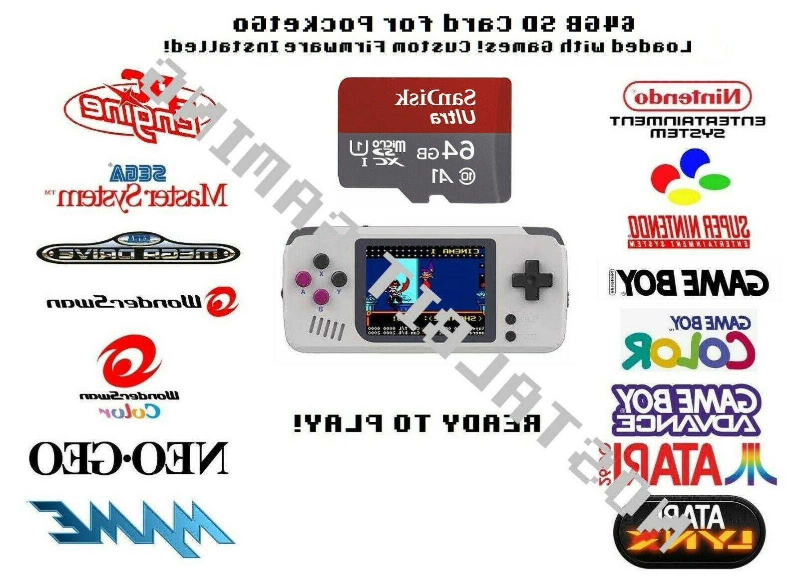 64 gb sd card for pocket go