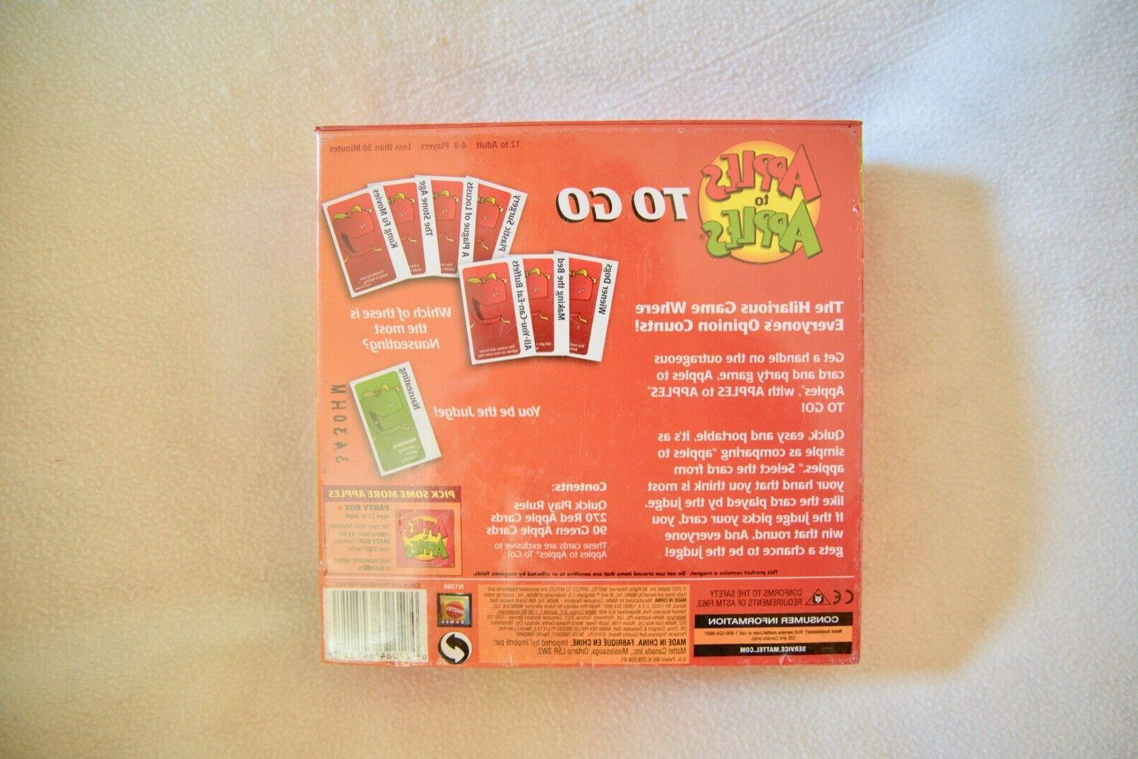 Mattel To-Go Card Game Ages