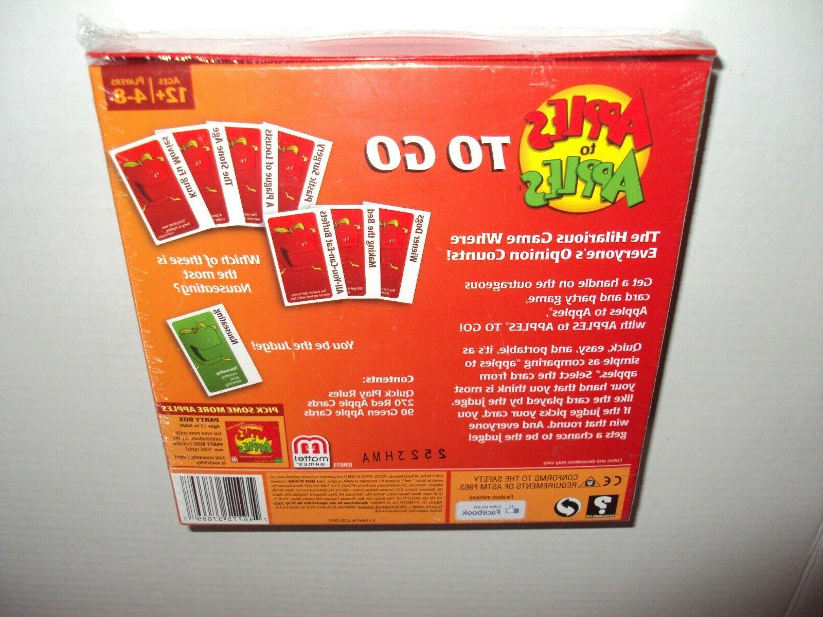 Mattel Apples To Edition Family Card