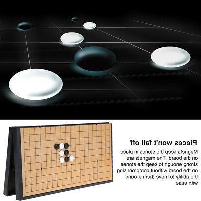 Baduk Go Board WeiQi Xiangqi Chinese Chess Game Portable ko