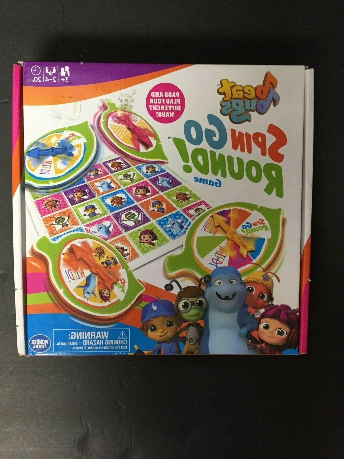 beat bugs spin go round game match