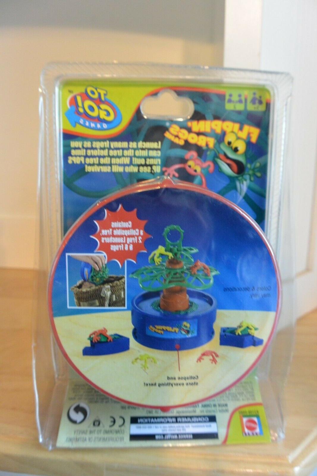 Mattel Flippin Frogs Brand Box