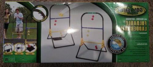 foldable ladderball set