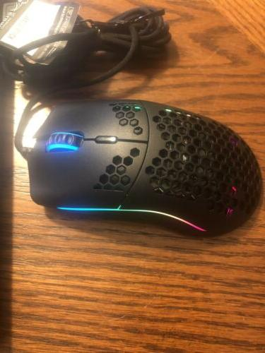 Glorious Race GO-BLACK Gaming Mouse Matte