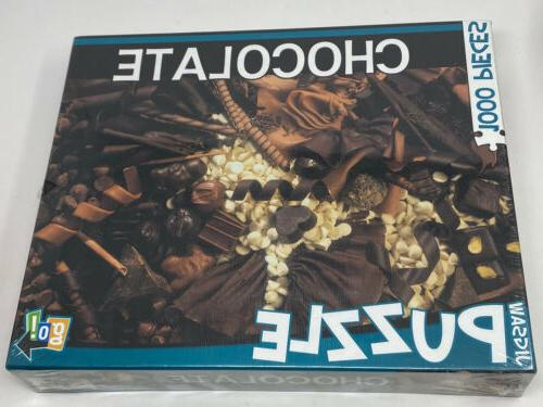 go games chocolate candy themed 1000pc puzzle