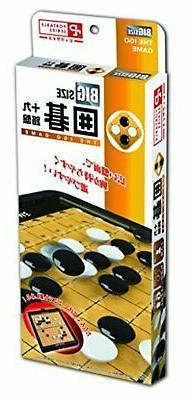 Hanayama Go  Game 19 x 19 Board Portable Big Made in Japan F