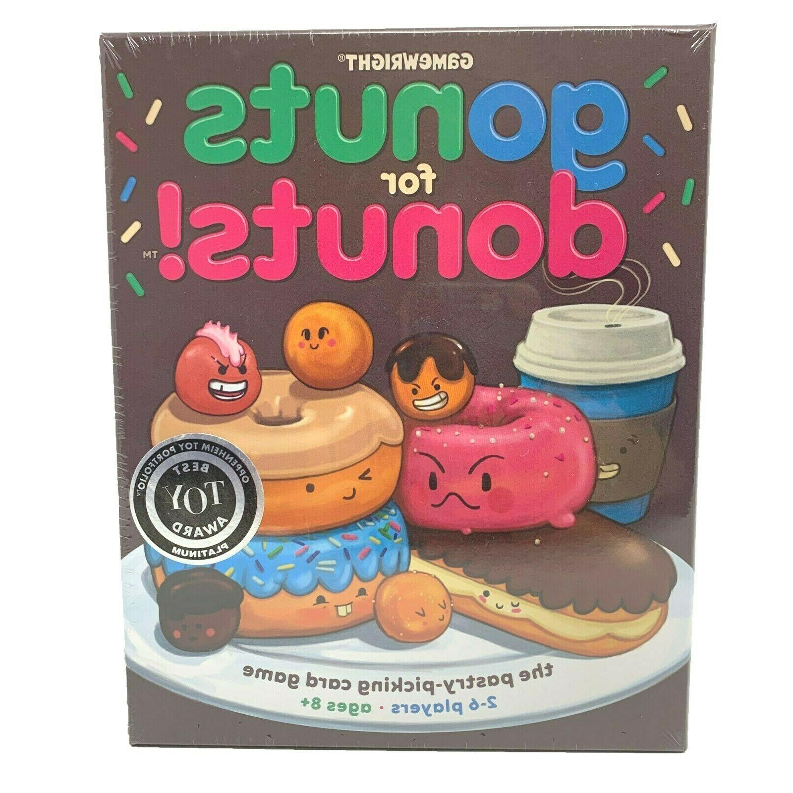 go nuts for donuts the card game