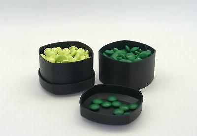 go set 8mm green glass stones