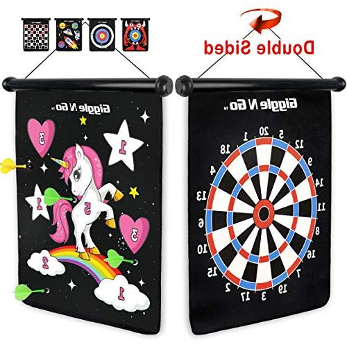 magnetic dart board game our reversible rollup