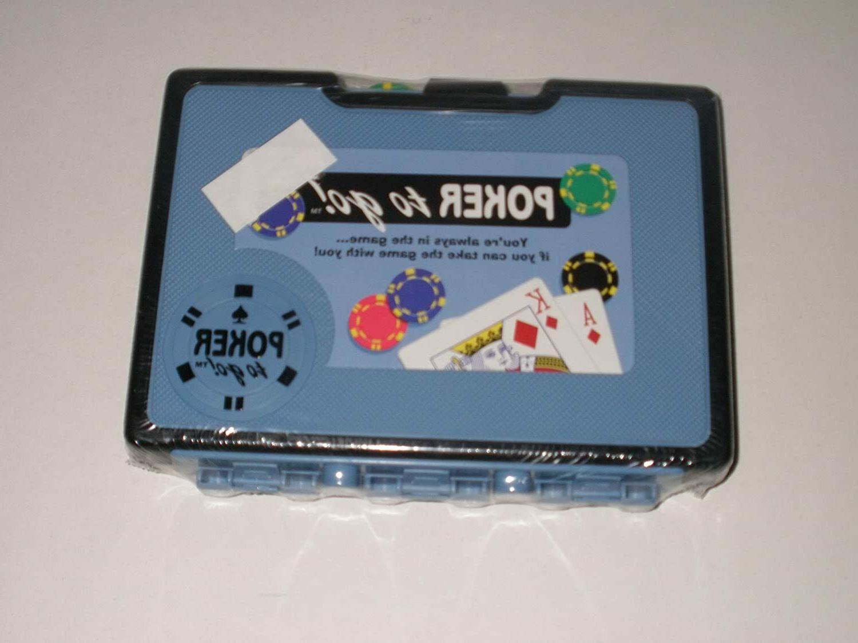 mini poker chip travel set