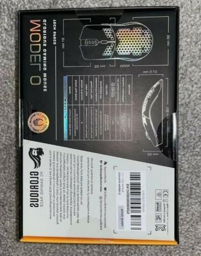 Glorious Gaming Race Model 12000 DPI RGB Gaming Mouse