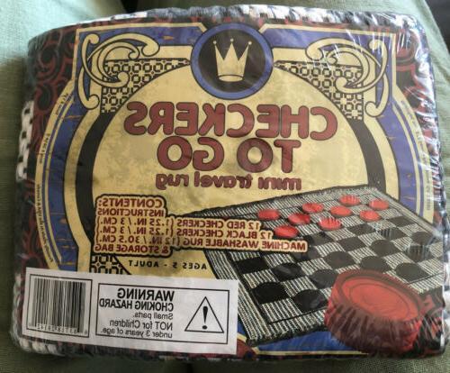 new classics checkers games to go mini