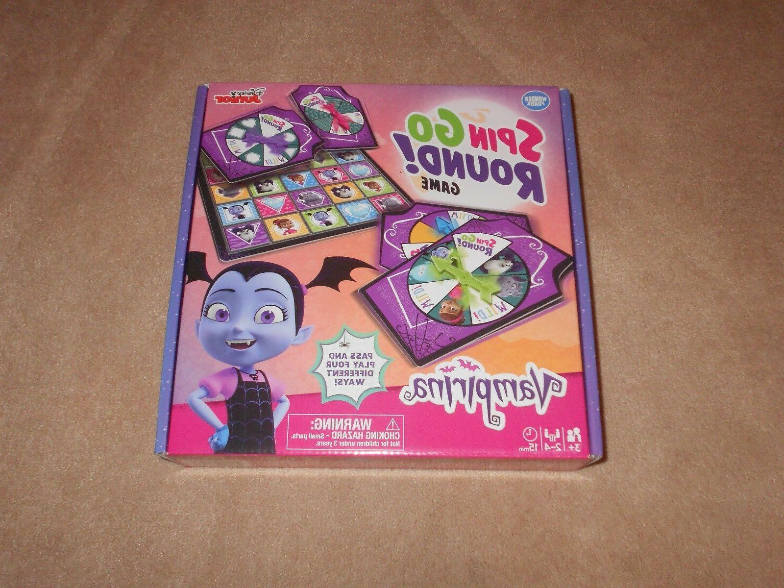 new disney junior vampirina spin go round