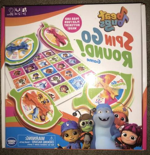 sealed beat bugs spin go round game