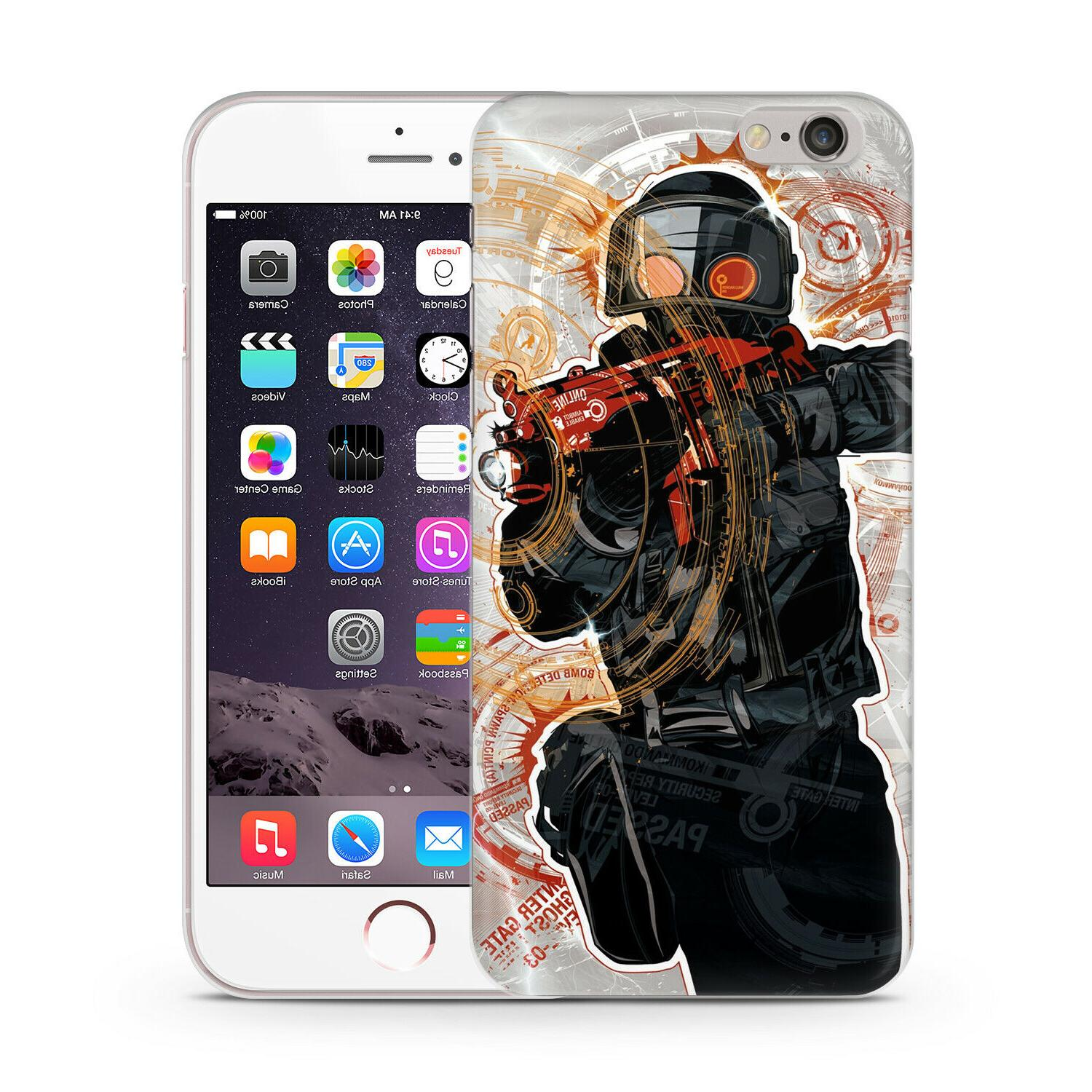 Shooter Multiplayer CS Case Cover iPhone SE 11 8 7 X